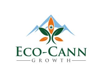Eco-Cann Growth logo design