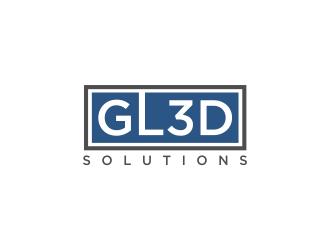 GL3D Solutions logo design