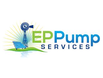 EP Pump Services logo design