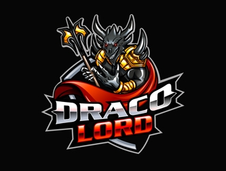 DracoLord logo design
