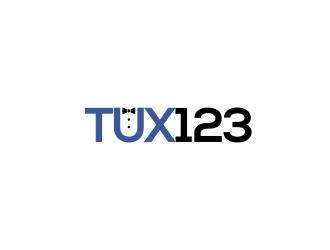 Tux123 logo design