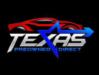 Texas Preowned Direct logo design