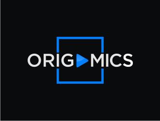 Origamics logo design