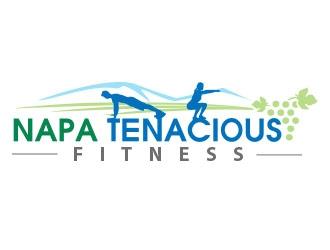 Napa Tenacious Fitness logo design