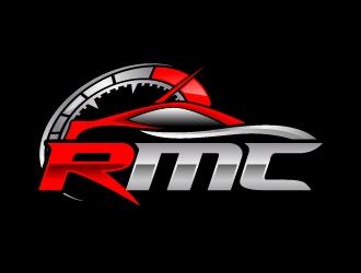 RMC redline mobile carwash  logo design