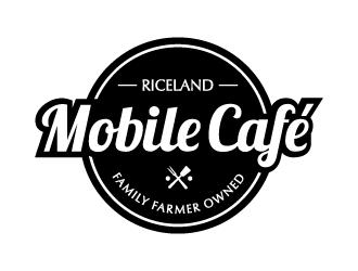 Riceland Mobile Café logo design