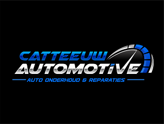 Catteeuw automotive or garage catteeuw i give you guys free to choose best logo design