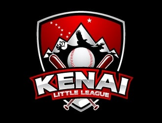 Kenai Little League logo design