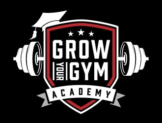Grow Your Gym Academy logo design