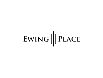 Ewing Place logo design