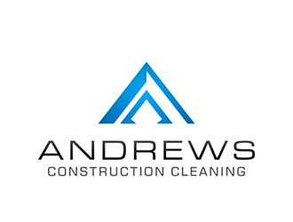 Andrews Construction Cleaning logo design