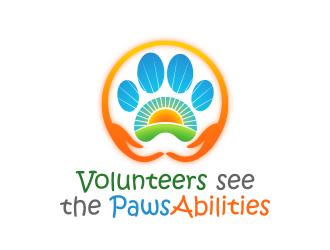 PawsAbilities logo design