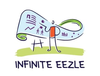 Infinite Eezel logo design