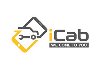 iCab logo design