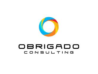 Obrigado Consulting logo design