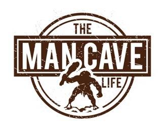 The Man Cave Life logo design