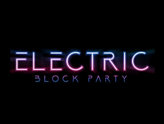 Electric Block Party logo design