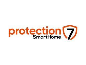 Protection7 logo design