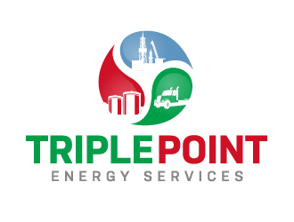 Triple Point Energy Services logo design