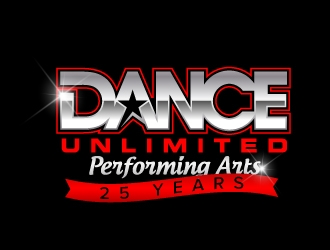 Dance Unlimited Performing Arts logo design