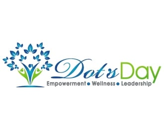 Dots Day logo design