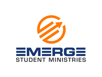 Emerge Youth Ministries logo design