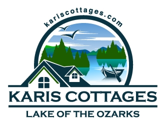 Karis Cottages logo design