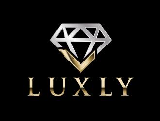 LUXLY logo design