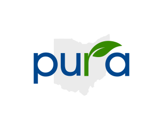 Pura logo design