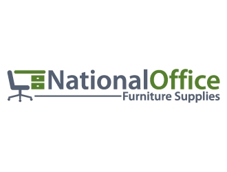 National Office Furniture Supplies Logo Design Concepts 74