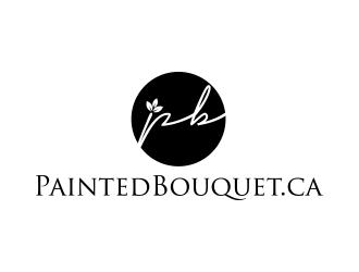 PB (paintedbouquet.ca) logo design