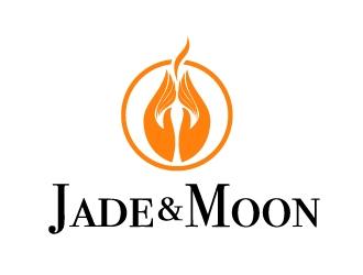 Jade and Moon logo design