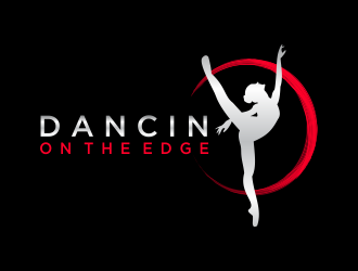 Dancin on the Edge  logo design