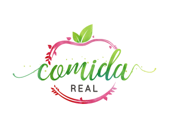 Comida Real  logo design