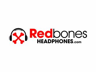 RedbonesHeadphones.com logo design