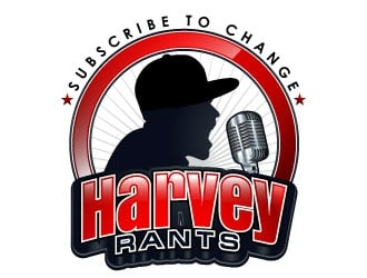 Harvey Rants  logo design