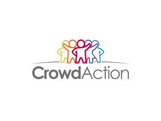 Crowd Action logo design