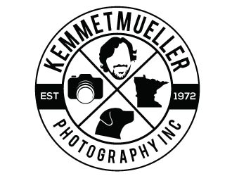 Kemmetmueller Photography Inc logo design