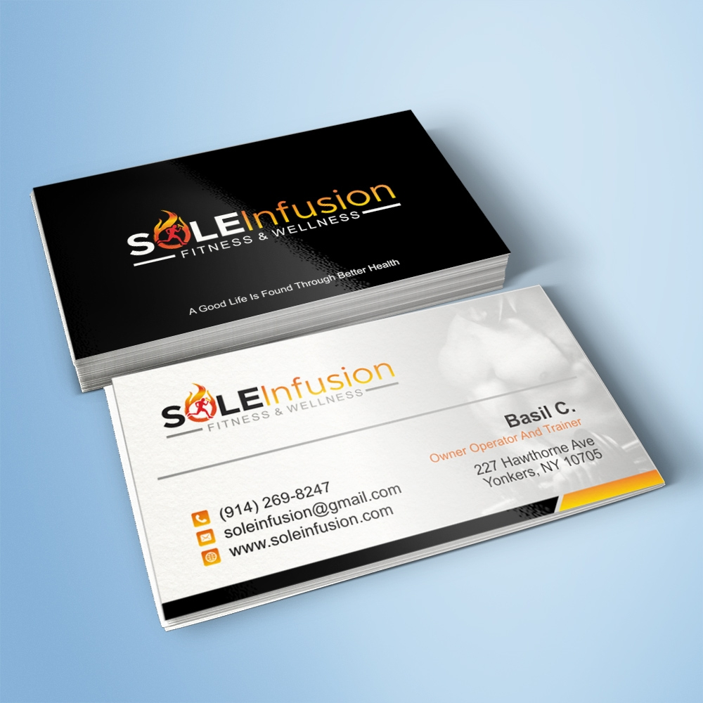 SOLEInfusion Wellness logo design