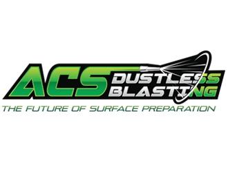 ACS Dustless Blasting logo design