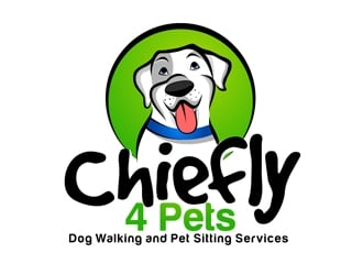 Chiefly4Pets logo design