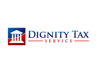 Dignity Tax Service logo design