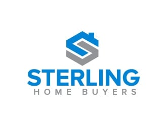 Sterling Home Buyers logo design