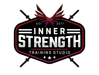 Inner Strength Training Studio logo design