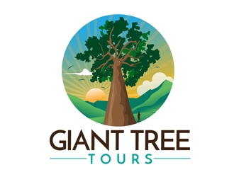 Giant Tree Tours logo design