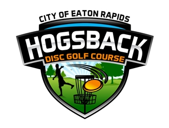 Hogsback Disc Golf Course logo design