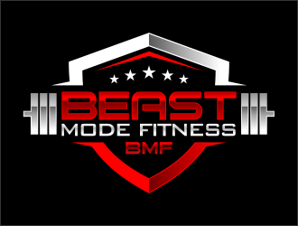 Beast Mode Fitness logo design