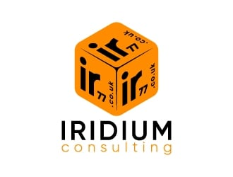 Ir77 (Iridium consulting) - IR77 is the web address (.co.uk). logo design