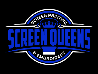Screen Queens logo design