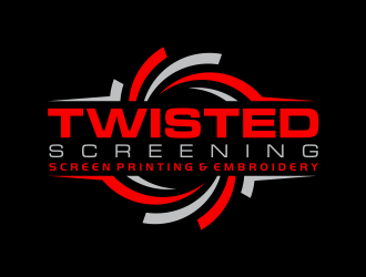 Twisted Screening logo design